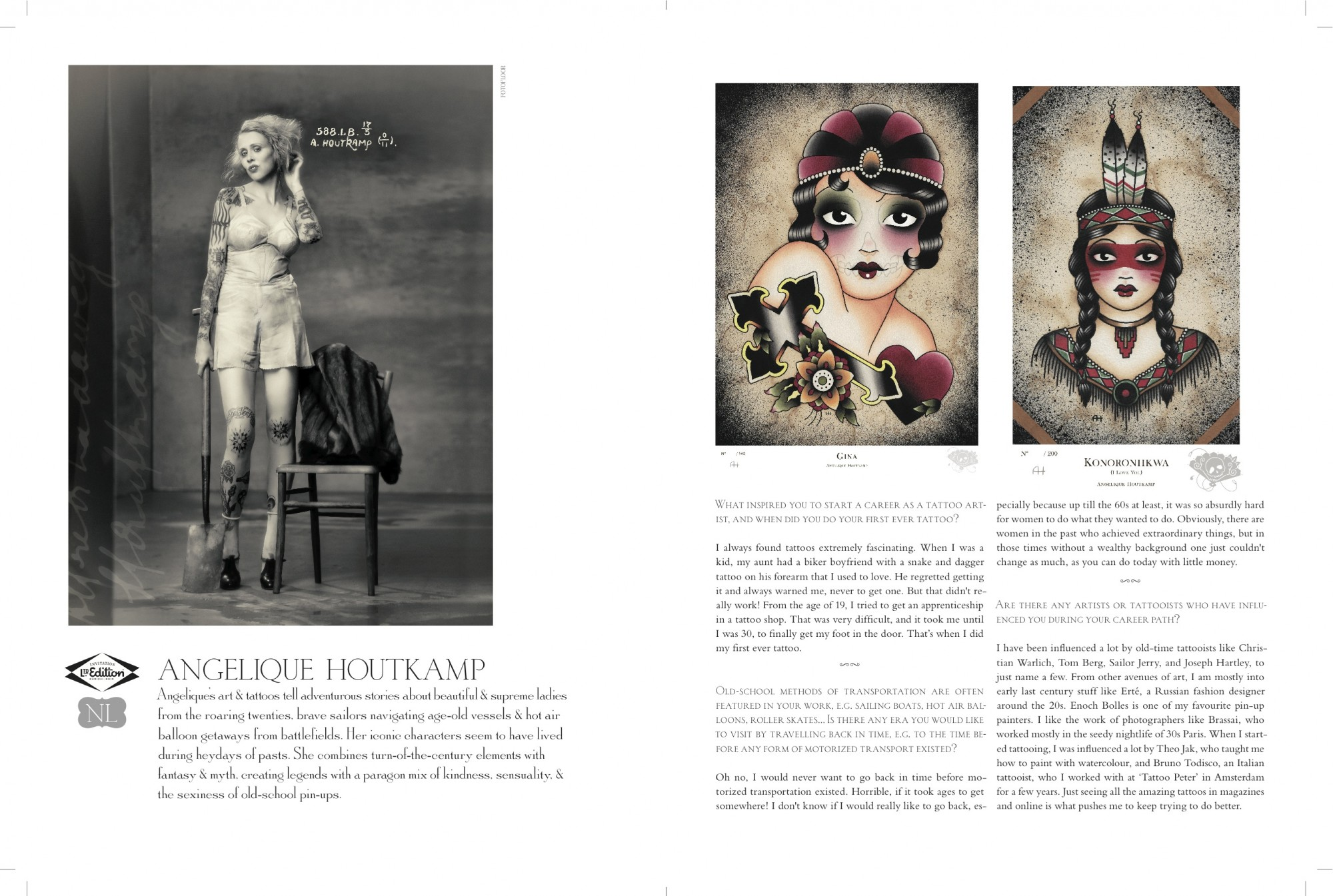 Ltd.Edition 2013 in AMATEUR MAGAZINE issue 012 pages 60-61