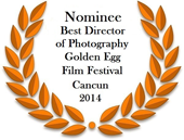 Golden Egg Cancun Best Director of Photography Laurel small